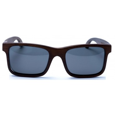 Carver - Brown Bamboo Sunglasses