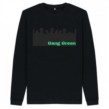 Gang Green - Men's Organic Cotton Sweatshirt