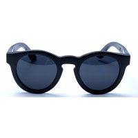 Hepburn - Black Bamboo Sunglasses