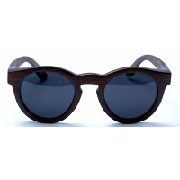 Hepburn - Brown Bamboo Sunglasses