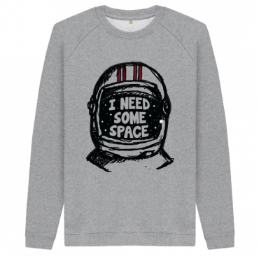 I Need Some Space - Men's Organic Cotton Sweatshirt