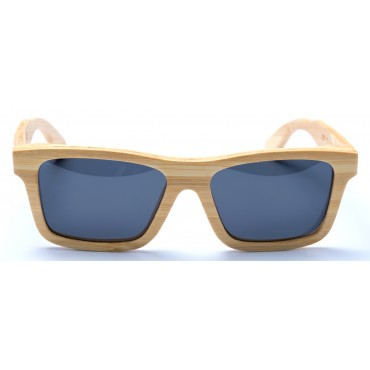 Kennedy - Natural Bamboo Sunglasses