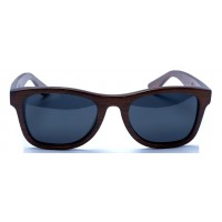 Monroe - Brown Bamboo Sunglasses
