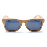 Monroe - Honey Bamboo Sunglasses