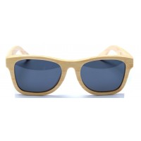 Monroe - Natural Bamboo Sunglasses