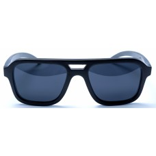 Nelson - Black Bamboo Sunglasses
