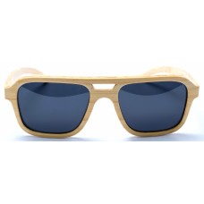 Nelson - Natural Bamboo Sunglasses