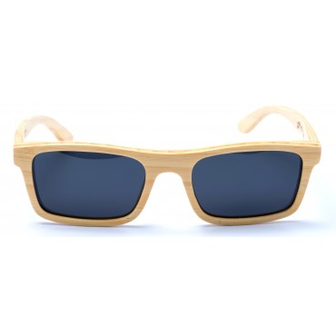 Robinson - Natural Bamboo Sunglasses