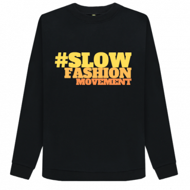 Slow Fashion - Women's Organic Cotton Sweatshirt