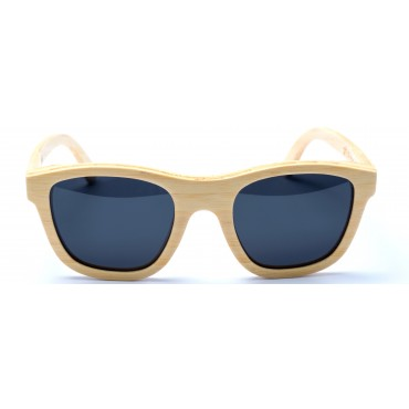 Victoria - Natural Bamboo Sunglasses